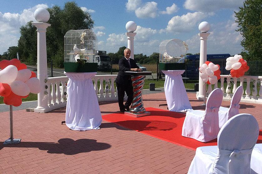 Ihre Hochzeitstauben - Hochzeitshighlight