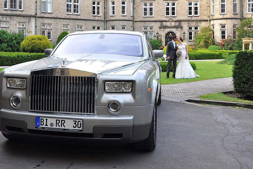 Tietz Chauffeurdienst - Hochzeitsauto